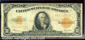 Large Size Gold Certificates:Large Size, 1922 $10 Gold Certificate, Fr-1173, VG. This note displays nice...