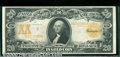 Large Size Gold Certificates:Large Size, 1906 $20 Gold Certificate, Fr-1185, VF. Although this note has ...