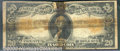Large Size Gold Certificates:Large Size, 1906 $20 Gold Certificate, Fr-1186, AG. This note is in pretty ...