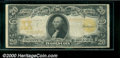 Large Size Gold Certificates:Large Size, 1906 $20 Gold Certificate, Fr-1186, VG. This note has been wash...