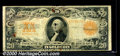 Large Size Gold Certificates:Large Size, 1922 $20 Gold Certificate, Fr-1187, Good-VG. While possessing t...