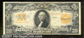 Large Size Gold Certificates:Large Size, 1922 $20 Gold Certificate, Fr-1187, VF. The color is good and t...