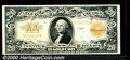Large Size Gold Certificates:Large Size, 1922 $20 Gold Certificate, Fr-1187, XF. A pleasing, well center...