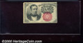 Fractional Currency: , 1874-1876 10c Fifth Issue, Meredith, Fr-1265, XF. You may bid o...