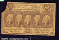 Fractional Currency: , 1862-1863, 25c First Issue, Jefferson Stamps, Fr-1281, Good. We...