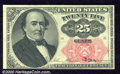 Fractional Currency: , 1874-1876, 25c Fifth Issue, Walker, Fr-1308, AU. Fresh paper wi...
