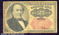 Fractional Currency: , 1874-1876, 25c Fifth Issue, Walker, Fr-1309, VG. Heavy soiling ...