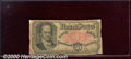 Fractional Currency: , 1874-1876, 50c Fifth Issue, Crawford, Fr-1381, Good. Well soile...