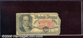 Fractional Currency: , 1874-1876, 50c Fifth Issue, Crawford, Fr-1381, Good. Heavily wo...