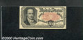 Fractional Currency: , 1874-1876, 50c Fifth Issue, Crawford, Fr-1381, Fine. Tight top ...