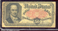 Fractional Currency: , 1874-1876, 50c Fifth Issue, Crawford, Fr-1381, Fine. Numerous f...