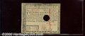 Colonial Notes:Massachusetts, May 5, 1780, $3, Massachusetts, MA-280, AU, hole cancelled. A n...