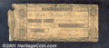 Obsoletes By State:Michigan, $10, Detroit Bank, MI, 10/24/1806, Signed by A B Woodward, Good...