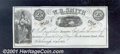 Obsoletes By State:Ohio, 25 Cents, W R Smith, Hillsborough, OH, 4/1/1853, VF-XF. The vig...