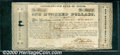 Miscellaneous:Republic of Texas Notes, 1837 $100 Consolidated Fund of Texas, Fine. Cr-CF7a. An interes...