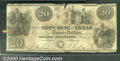 Miscellaneous:Republic of Texas Notes, 1839 $20 Republic of Texas, VG. Cr-A6. You may bid on this lot ...
