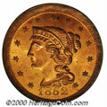 Additional Certified Coins: , 1852 1C, RD