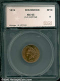 Additional Certified Coins: , 1874 1C, RB
