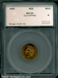 Additional Certified Coins: , 1884 1C, RD