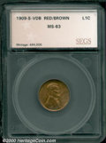 Additional Certified Coins: , 1909-S 1C VDB, RB