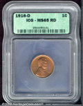 Additional Certified Coins: , 1916-D 1C, RD