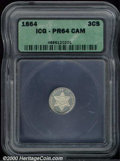 Additional Certified Coins: , 1864 3CS