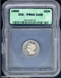 Additional Certified Coins: , 1866 3CN