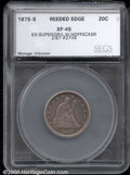 Additional Certified Coins: , 1875-S 20C