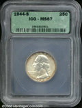 Additional Certified Coins: , 1944-S 25C