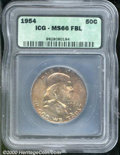 Additional Certified Coins: , 1954 50C, FL