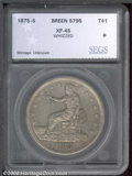 Additional Certified Coins: , 1875-S T$1