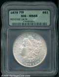 Additional Certified Coins: , 1878 7TF S$1 REV 1879