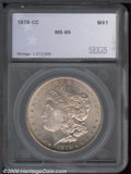 Additional Certified Coins: , 1878-CC S$1