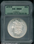 Additional Certified Coins: , 1878-S S$1