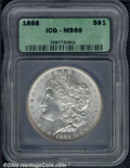 Additional Certified Coins: , 1888 S$1