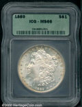 Additional Certified Coins: , 1889 S$1