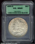 Additional Certified Coins: , 1890-O S$1