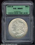 Additional Certified Coins: , 1921-S S$1