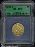 Additional Certified Coins: , 1841-C $5