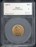 Additional Certified Coins: , 1905-S $5