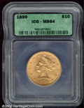 Additional Certified Coins: , 1899 $10