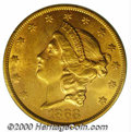 Additional Certified Coins: , 1868-S $20
