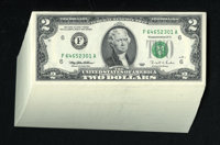 Fr. 1936-F $2 1995 Federal Reserve Notes. 100 Consecutive Notes. Gem Crisp Uncirculated. Nice margins are found on these...