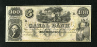 New Orleans, LA- Canal Bank $100 18__ This remainder is quite colorful and boasts perfect paper quality. Choice Crisp Un...