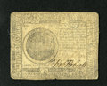 Colonial Notes:Continental Congress Issues, Continental Currency November 29, 1775 $7 Very Good-Fine. Onesignature is weak and the other bold on this example....