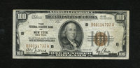 Fr. 1890-B $100 1929 Federal Reserve Bank Note. Fine-Very Fine. These notes came to rescue during the banking holiday af...