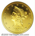 Proof Liberty Eagles: , 1899 $10