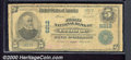 First National Bank of Troupe, TX, Charter #6212. 1902 $5 Third Charter Plain Back, Fr-608, Good-VG. This well worn exam...