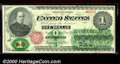 Large Size:Legal Tender Notes, 1862 $1 Legal Tender Note, Fr-16, CU. This attractive note has ...