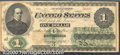 Large Size:Legal Tender Notes, 1862 $1 Legal Tender Note, Fr-16a, VF. Typically well centered ...